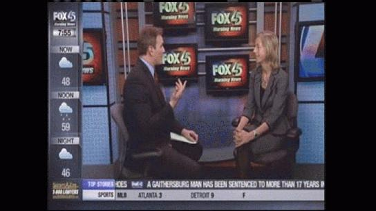 Jill Green's interview with Fox 45