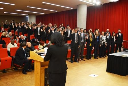 Spring 2015 Rule 16 Swearing In Ceremony Oath